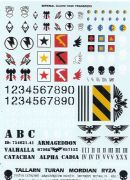 Imperial Guard Tank Transfer Sheet Warhammer 40,000 #99 51 01 05 004 (2000)